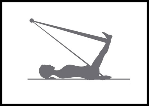 Upper Abdominal Exercise Rope