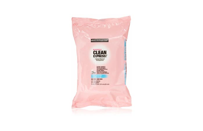 Maybelline Clean Express Facial Towelettes