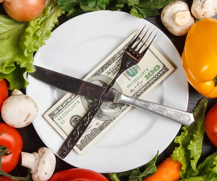 Your diet is a bank account. Good food choices are good investments