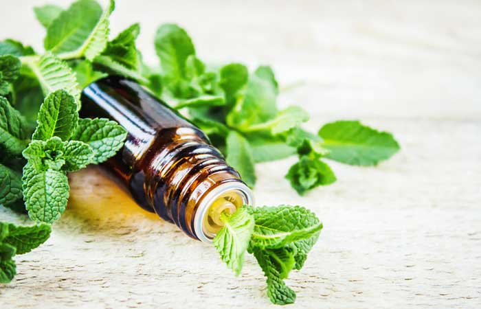 Hot Flashes - Peppermint Oil