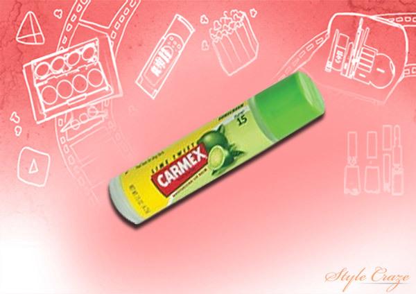 carmex lime twist lip balm