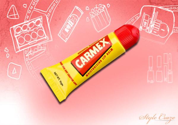 carmex lip moisturizing tube original balm