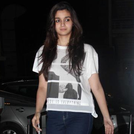 Alia Bhatt had hosted a special screening