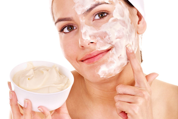 heavy creamy facial mask