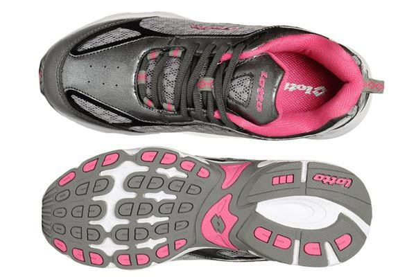 lotto women grey claire sports shoes