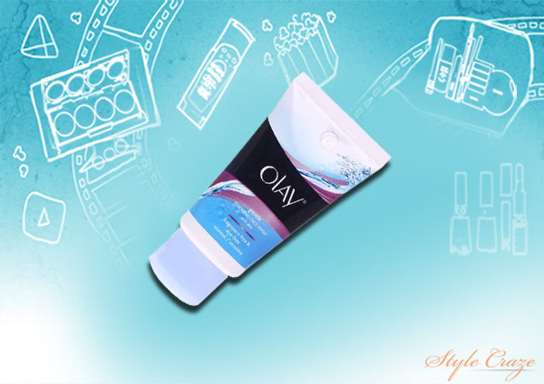 olay gentle foaming face wash