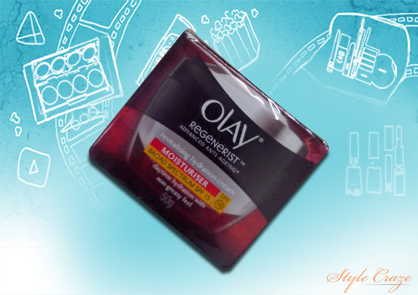 olay regenerist advanced anti aging revitalizing hydration cream