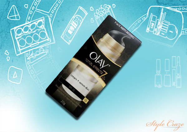 olay total effects cream serum duo