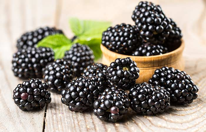 Improve Blood Circulation - Blackberries