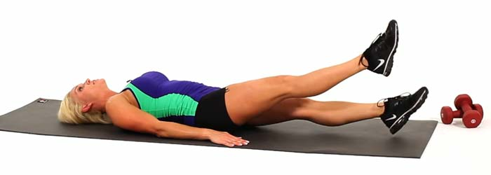 Core Strengthening Exercises - Flutter Kicks