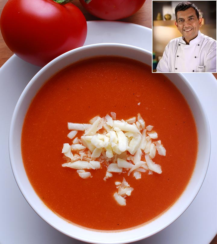 10 Healthy And Yummy Tomato Soup Recipes By Sanjeev Kapoor