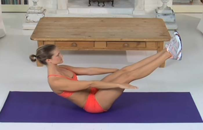 Core Strengthening Exercises - V-sit