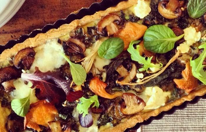 Mushroom Recipes - Mushroom Tart