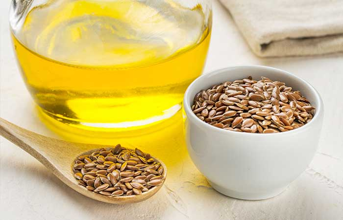 Home Remedies For Dry Eyes - Flaxseed Oil