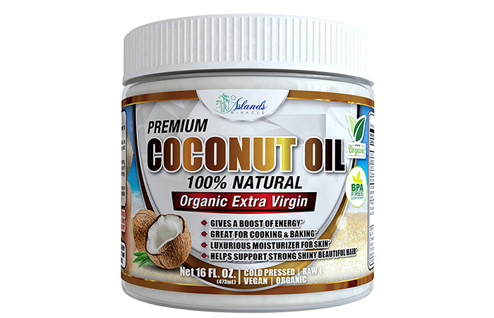 13. Coconut Oil For 'Makeup Remover'
