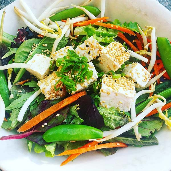 Chinese Salad Recipes - Cottage Cheese Chinese Salad