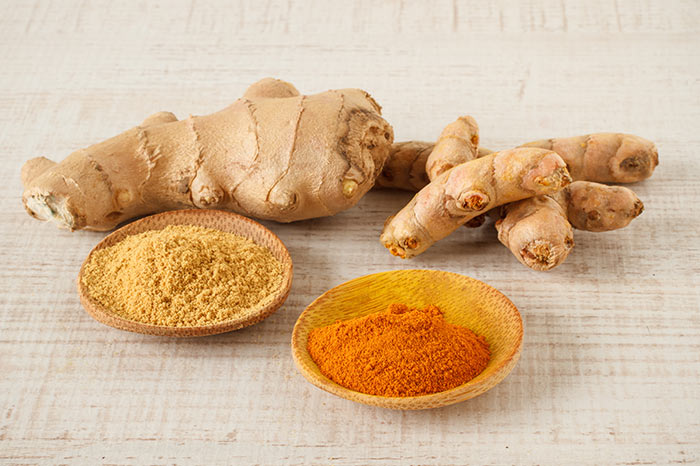 14. Ginger And Turmeric Mix