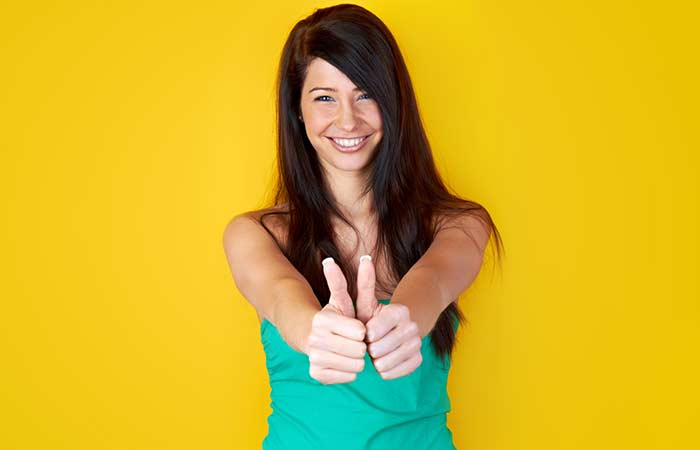 14. The Double Thumbs Up