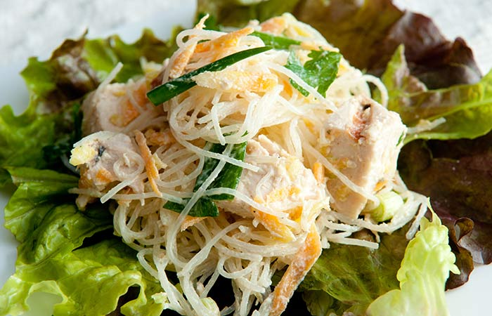 Cobb Salad Recipes - Mango Chicken Cobb Salad