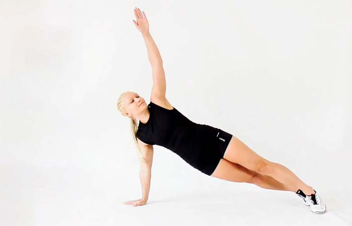 Core Strengthening Exercises - Plank-Rotation
