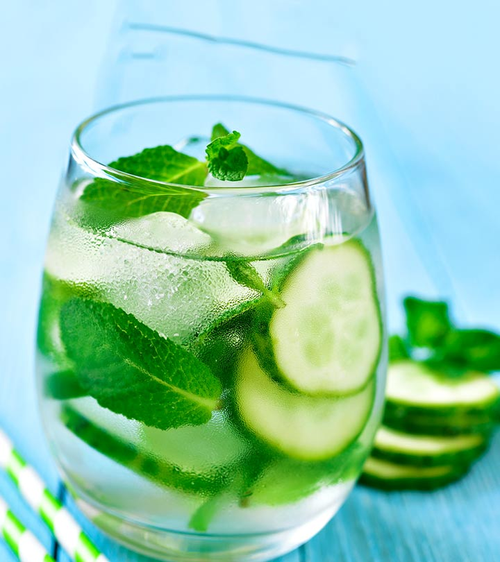 DIY: Homemade Cucumber Facial Mist/Toner For Glowing Skin