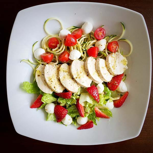 Summer Salads Recipes – Poached Chicken