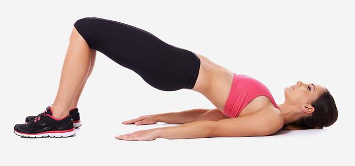 Knee Strengthening Exercises - The Bridge