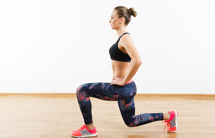 Knee Strengthening Exercises - Lunges