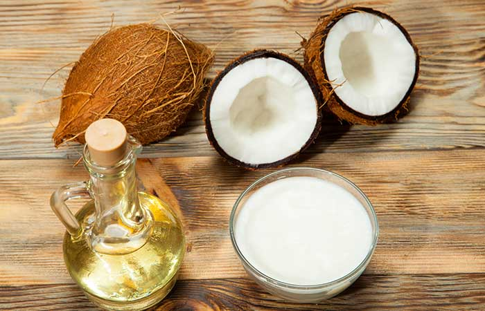 Home Remedies For Dry Eyes - Coconut Oil