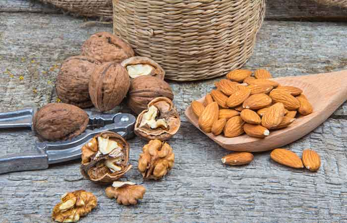 Improve Blood Circulation - Nuts