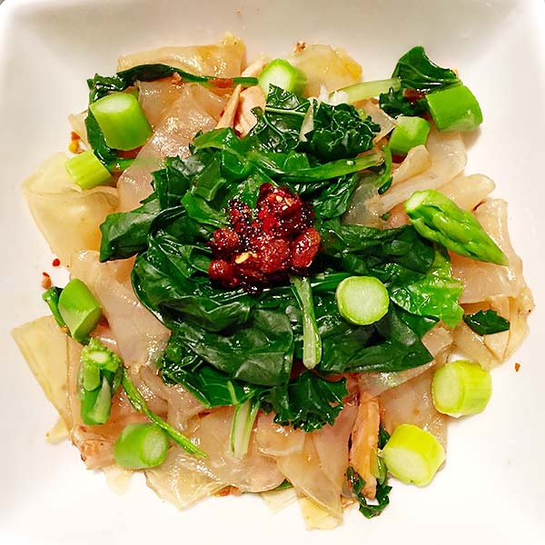 Chinese Salad Recipes - Mung Bean Clear Noodle Chinese Salad