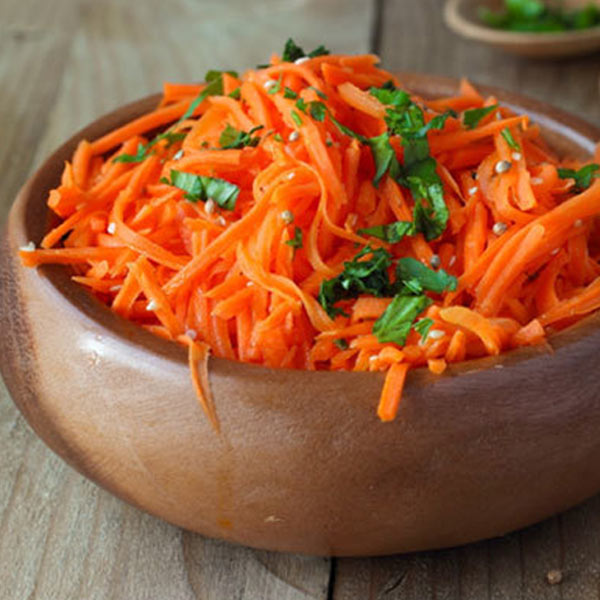 Summer Salads Recipes – Carrot Summer Salad With Lemon Honey Dressing