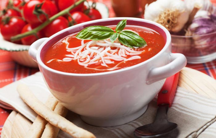 Best Tomato Soup Recipes By Sanjeev Kapoor - Thick Tomato Soup