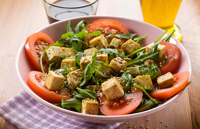 Cobb Salad Recipes - Tofu Cobb Salad