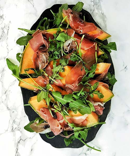 Summer Salads Recipes – Melon And Prosciutto