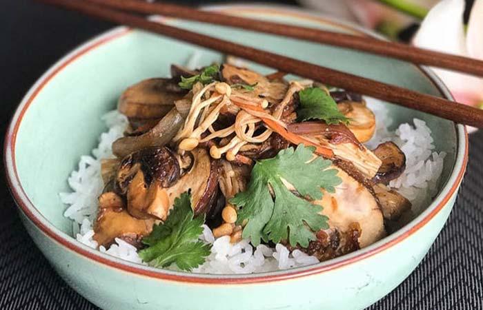 Mushroom Recipes - Classic Korean Vegan Mushroom Bulgogi