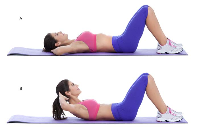 Core Strengthening Exercises - Crunches