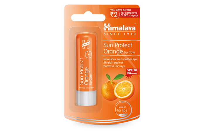 Himalaya Sun Protect Orange Lip Care
