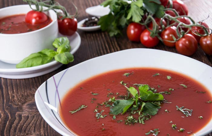 Best Tomato Soup Recipes By Sanjeev Kapoor - Tomato And Fennel Soup