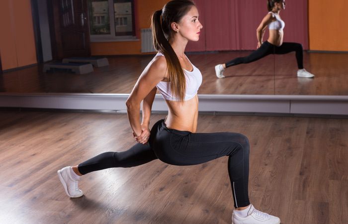 Exercises For Toned Buttocks - Back Lunges