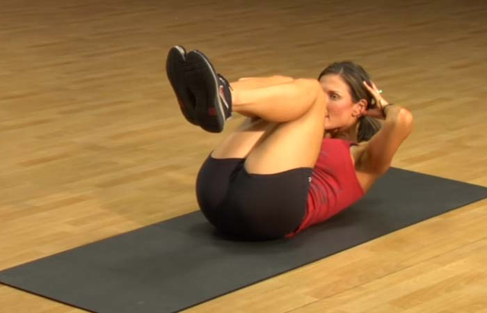 Core Strengthening Exercises - Reverse Crunch