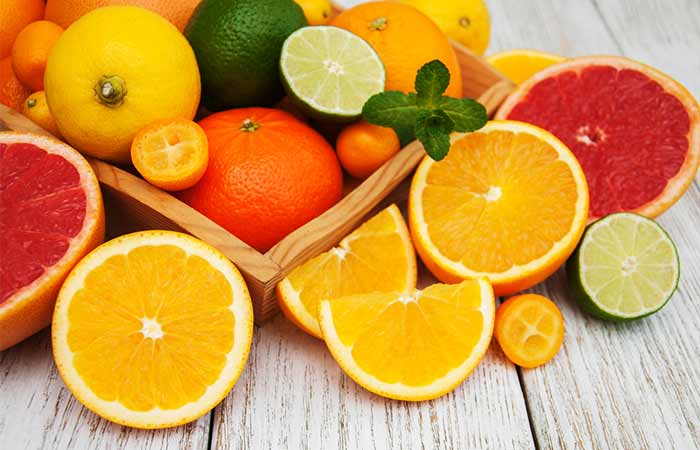 Improve Blood Circulation - Citrus Fruits