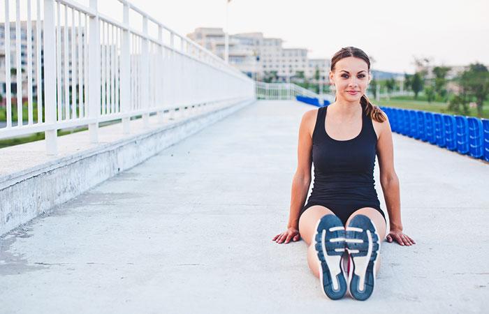 Knee Strengthening Exercises - Hamstring Stretch