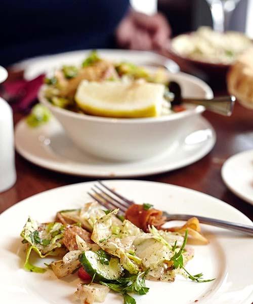 Summer Salads Recipes – Cucumber Shrimp Bacon