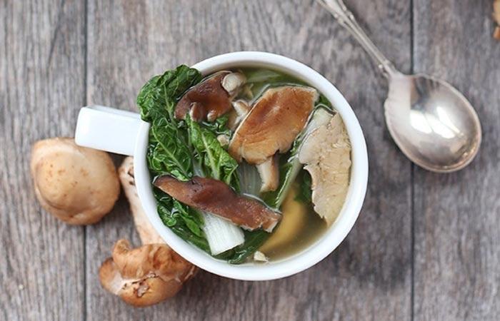 Mushroom Recipes - Healthy Mushroom Soup