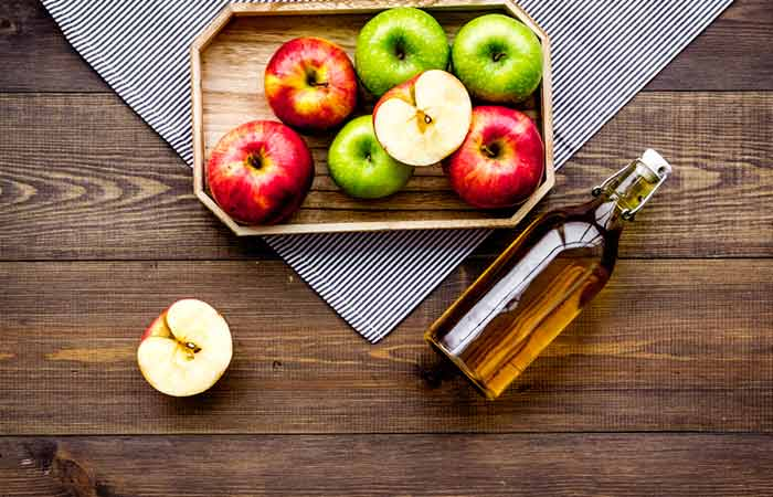 How To Get Rid Of Red Eyes - Apple Cider Vinegar