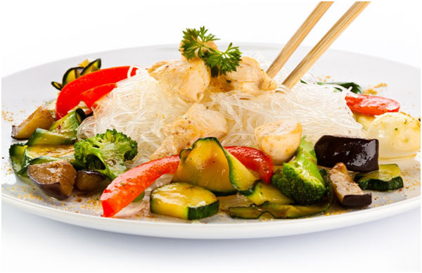 Asian Inspired Turkey Salad