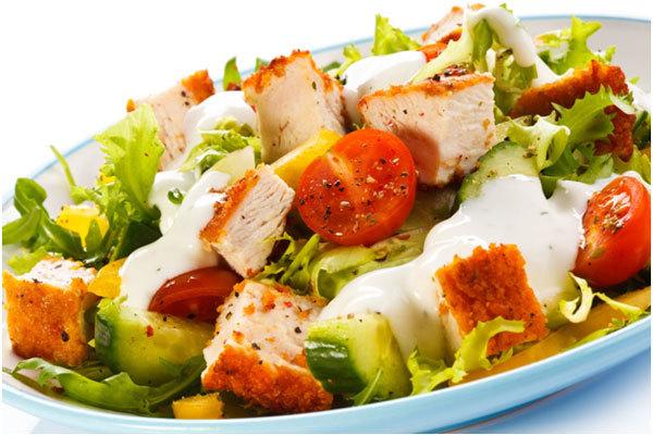 Cajun Turkey Salad