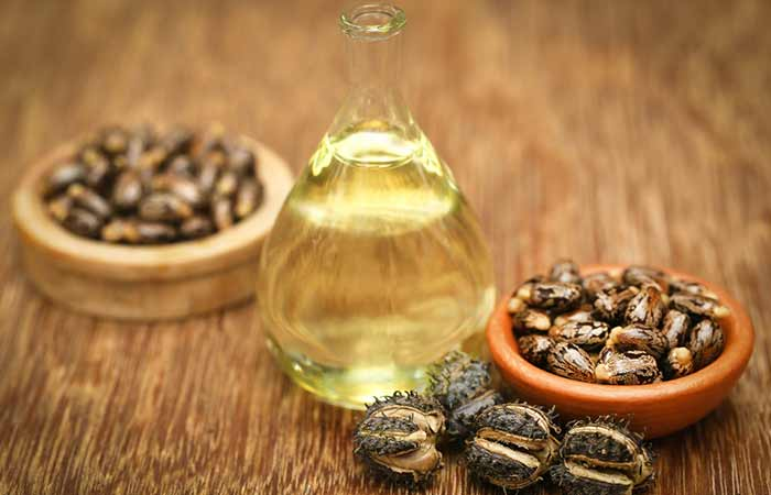 How To Get Rid Of Red Eyes - Castor Oil