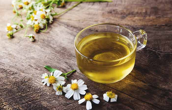 How To Get Rid Of Red Eyes - Chamomile Tea